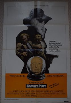 Family Plot, Original 1 sheet film poster, Alfred Hitchcock,'76